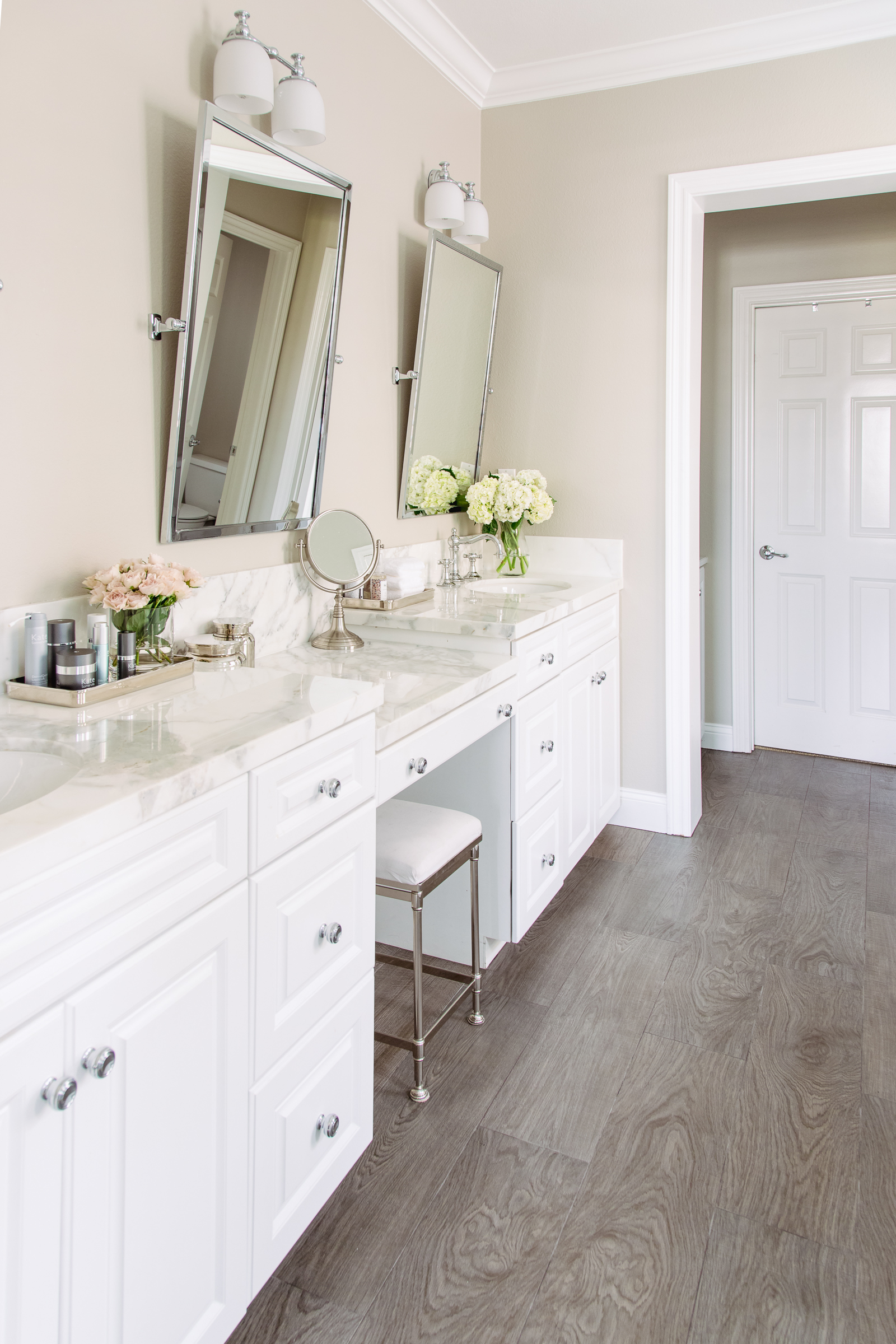 Our Finished Master Bathroom Remodel  Andee Layne