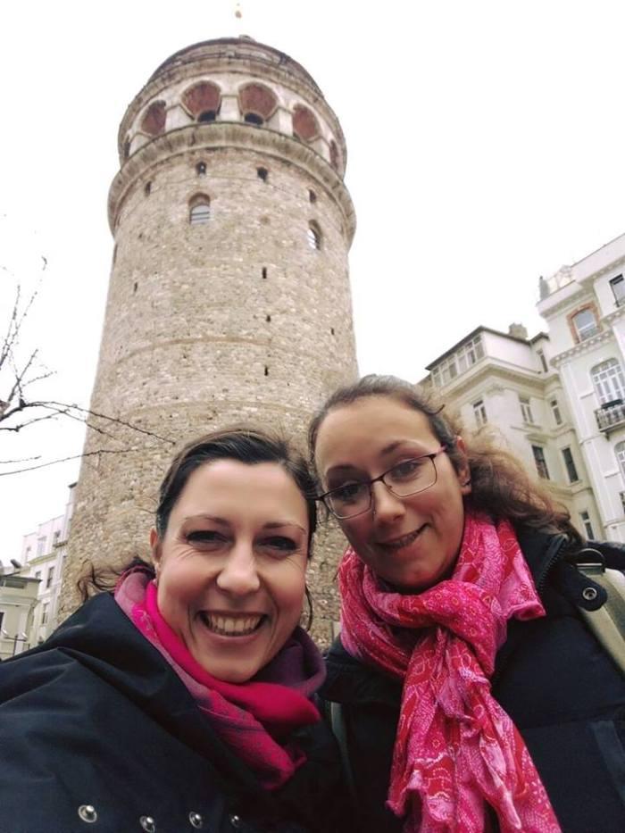 Ispred Galata tornja