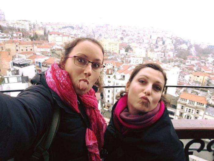 Na vrhu Galata tornja