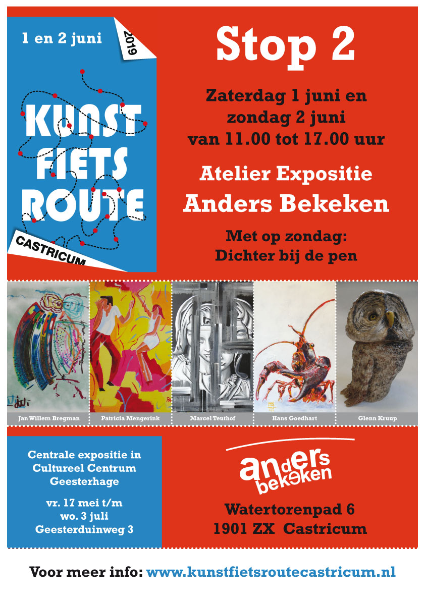 Kunst Fiets Route 2019