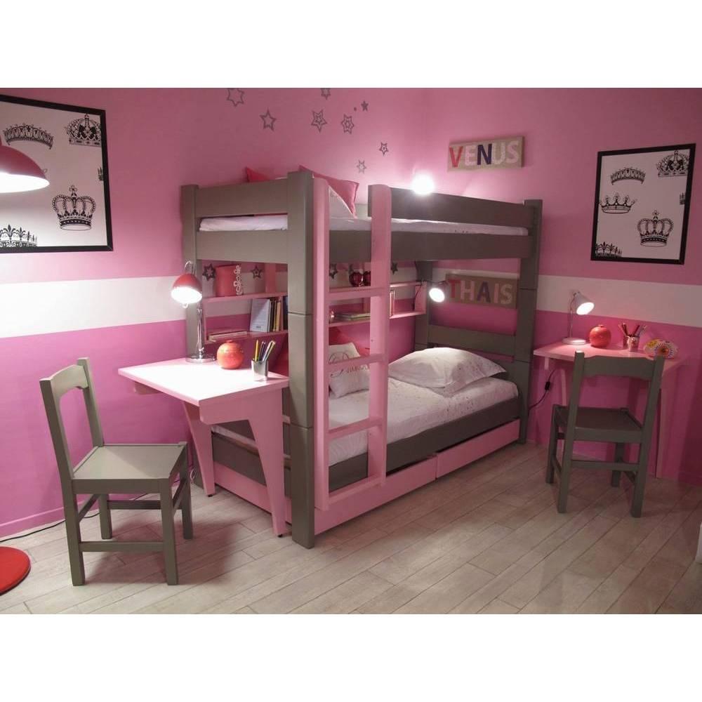 lit superpose avec rangement un must