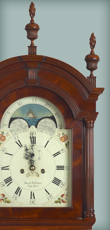 Andersen  Stauffer Furniture Makers  Clocks