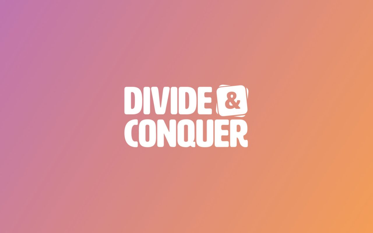 Introducing Divide & Conquer – Anders Norén