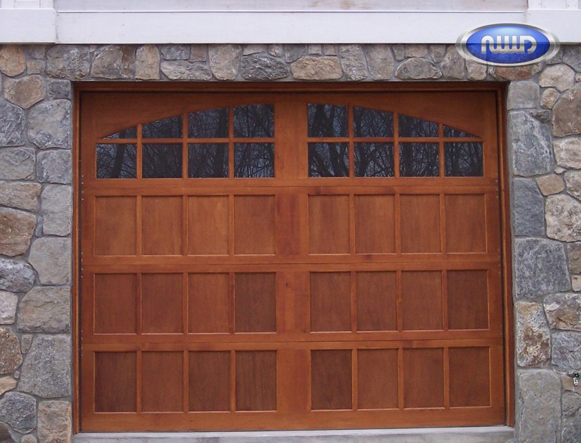 New and Improved Wood Style Garage Doors!