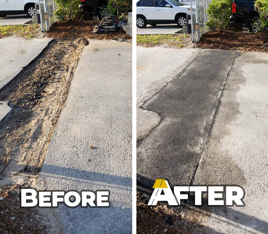 How Our Asphalt Repair Process Works Anderson And Son S