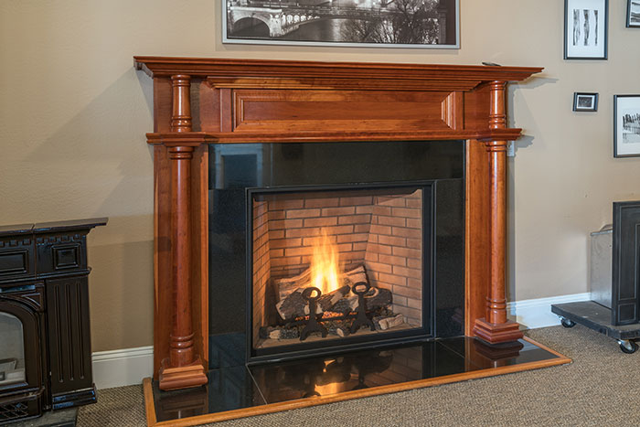 best gas electric wood