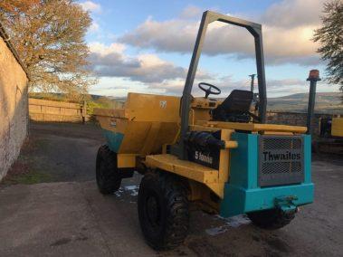 Thwaites 5 ton dumper