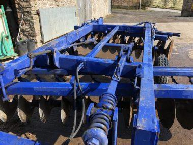 Blue disc harrow, www.andersonjohn.co.uk