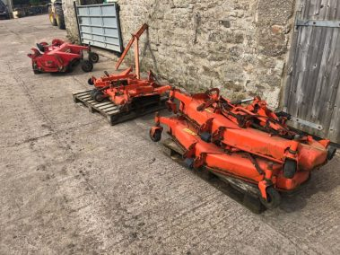 Kubota out front mower deck