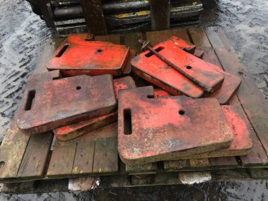 Same tractor weights