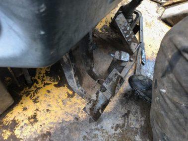 Komastu Backhoe loader