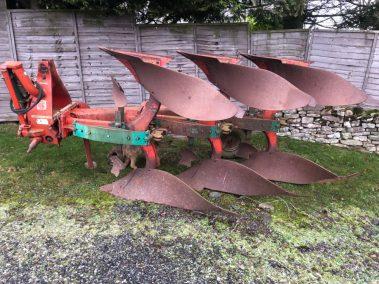 kverneland 3 furrow plough
