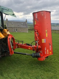Kuhn TBE 210 verg mower