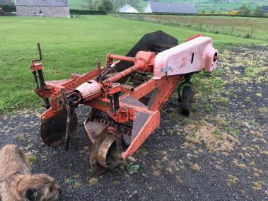 Ransomes / Johnson single row potato digger