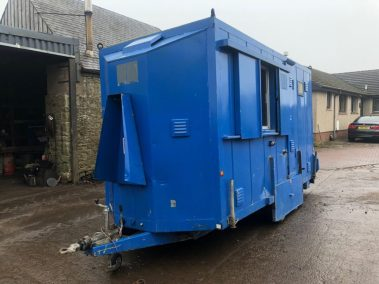 Securi-cabin , welfare unit