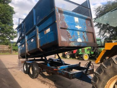 AS Marston 10 ton trailer