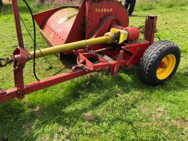 Taarup Double Chop Silage Harvester.