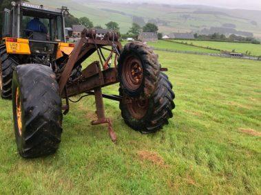 Trailed Mole plough