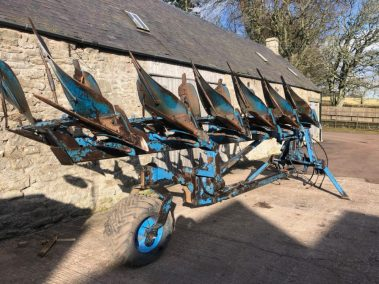 lemken 6 f semi mounted plough