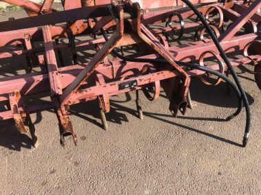 hyd folding 17ft spring tine drag