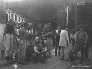 1990 - Galera que viajava com a Urbi Et Orbi no aniversário de Sabará/MG