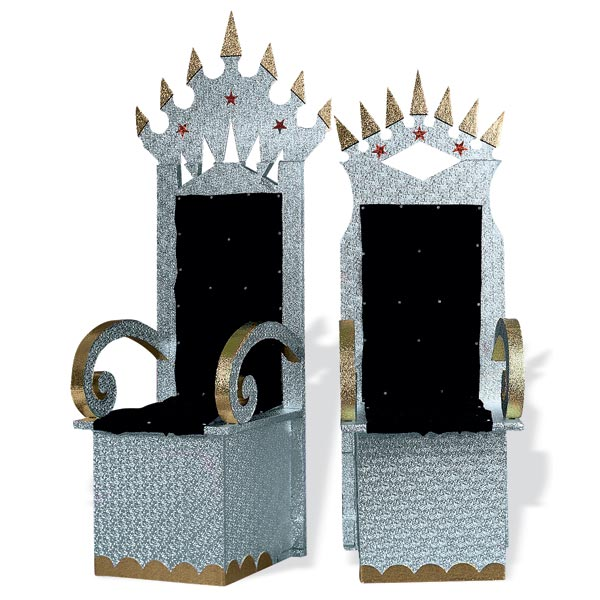 how to make a queen throne chair felt pads for hardwood floors royalty thrones kit | anderson's