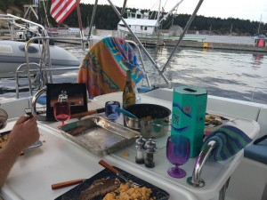 Hawks game and Dinner at Friday Harbor