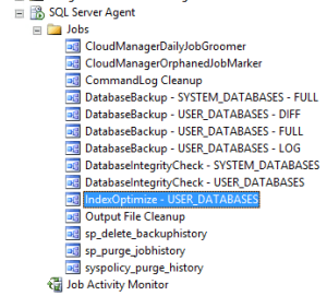 SQL Index Optimize