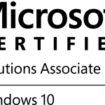 MCSA Windows 10 Certification