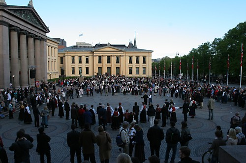 Dance at Oslo Constitution Day