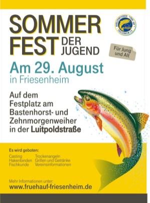 Frühauf Sommerfest der Jugend - Rueck