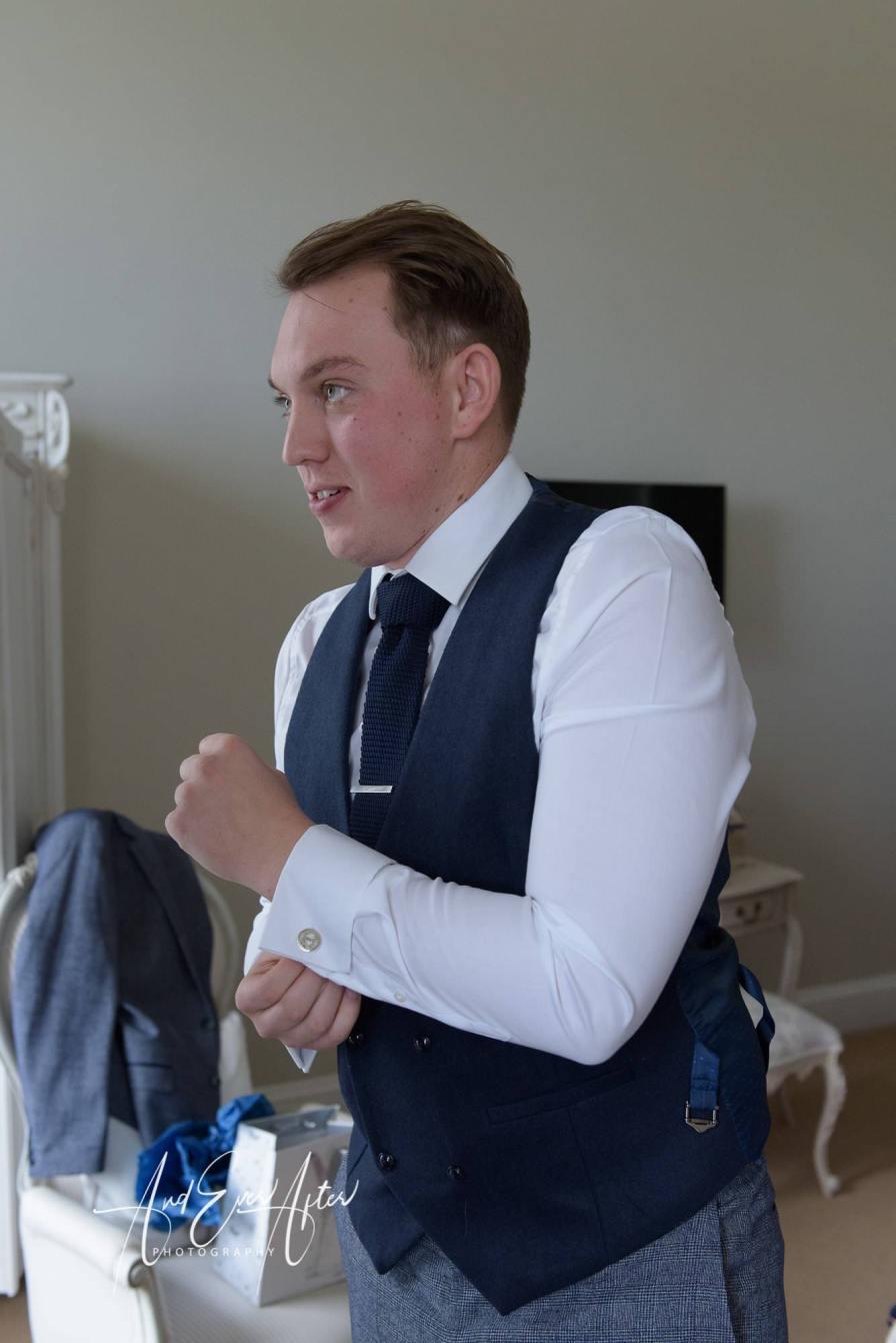 Groom, wedding photography, getting ready