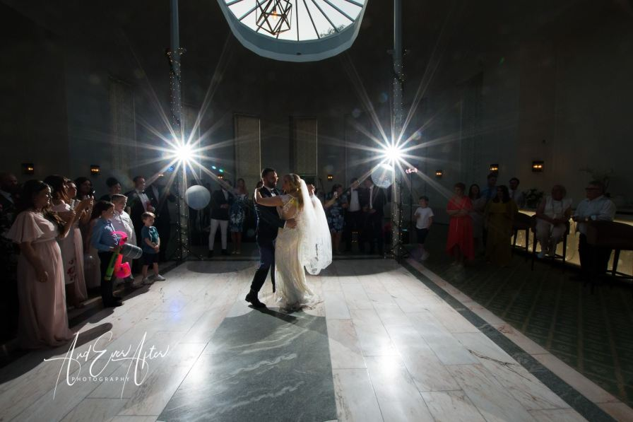 first dance, Wynyard hall, wedding photography