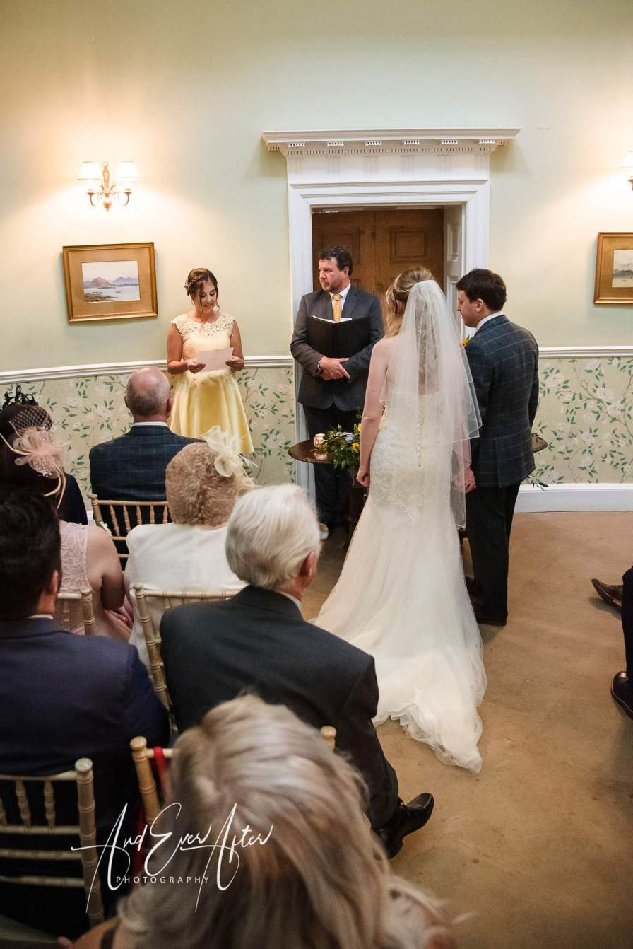 Middelton Lodge Wedding Photography, And Ever after Photography, wedding ceremony