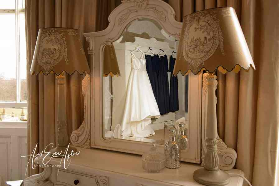 Lartington Hall, wedding venue, County Durham wedding photographer, wedding dress
