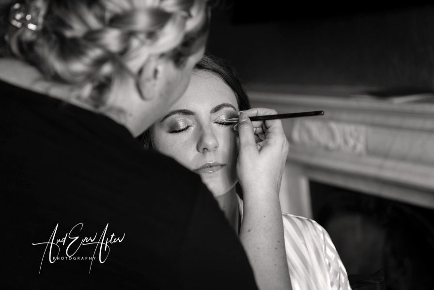 bride, make up