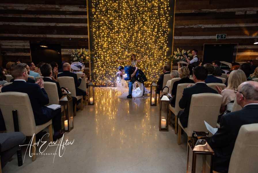 North Yorkshire Wedding Photography, wedding ceremony, bride and groom