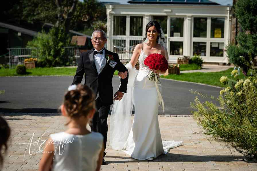 Wedding photography, the black horse at beamish wedding