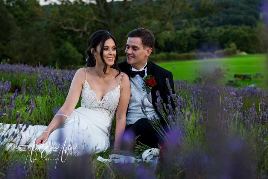 Wedding photography, the black horse at beamish wedding, bride and groom, Wedding photograph, And Ever After Photography, lavender fields