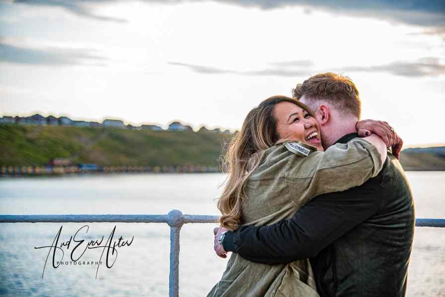 engagement photo shoot, moment of proposal