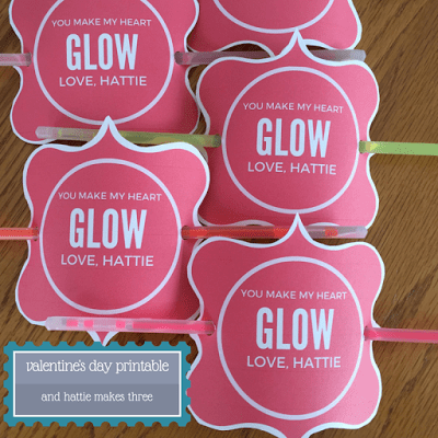graphic relating to You Make My Heart Glow Printable identified as Valentines Working day Printable Yourself Deliver My Center Shine! And