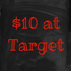 $10 Target Challenge