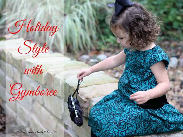 Holiday Style at Gymboree + Giveaway!