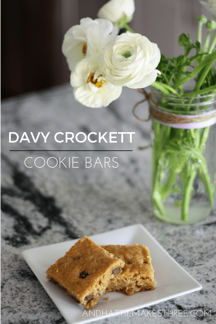 Easy and delicious cookie bars