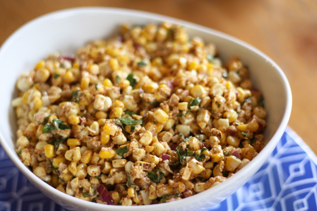 Grilled Mexican Street Corn Indoors + Giveaway!