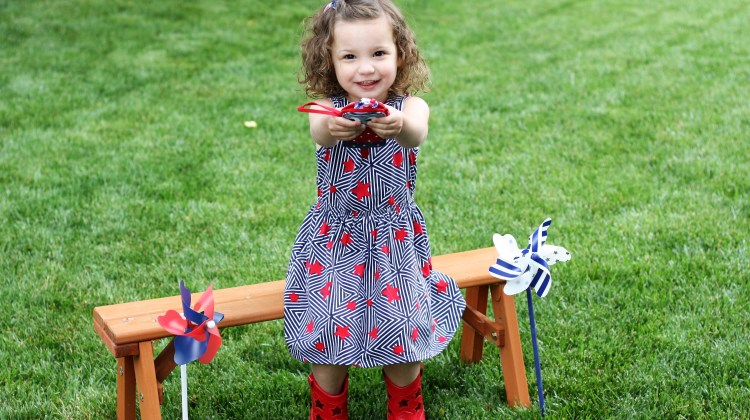 Red White and Cute with Gymboree +Giveaway