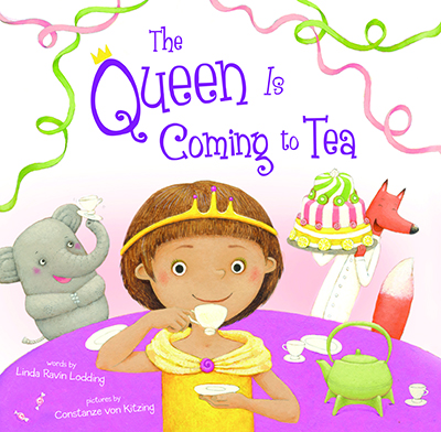 The Queen is Coming to Tea + Giveaway