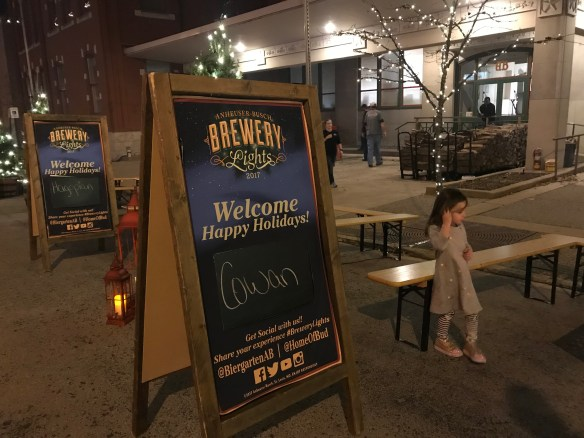 Anheuser-Busch Brewery Lights | And Hattie Makes Three