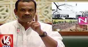 Komatireddy Venkat Reddy Speaks On N Convention Encroachment by Actor Nagarjuna
