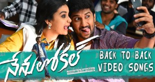 Nenu Local Back To Back Video Song Trailers